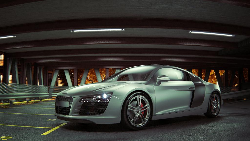 01 / Audi R8