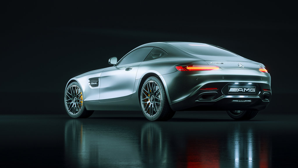 02 / Mercedes AMG GT Studio